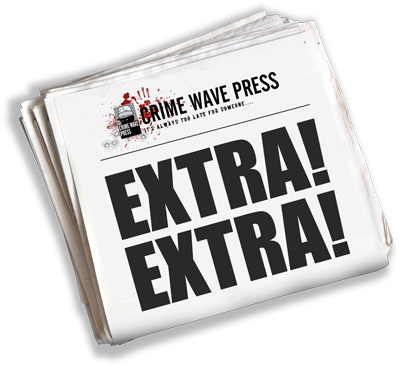 Image result for crime wave press logo
